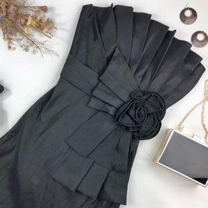 Romeo & Juliet Couture Strapless Black Dress M